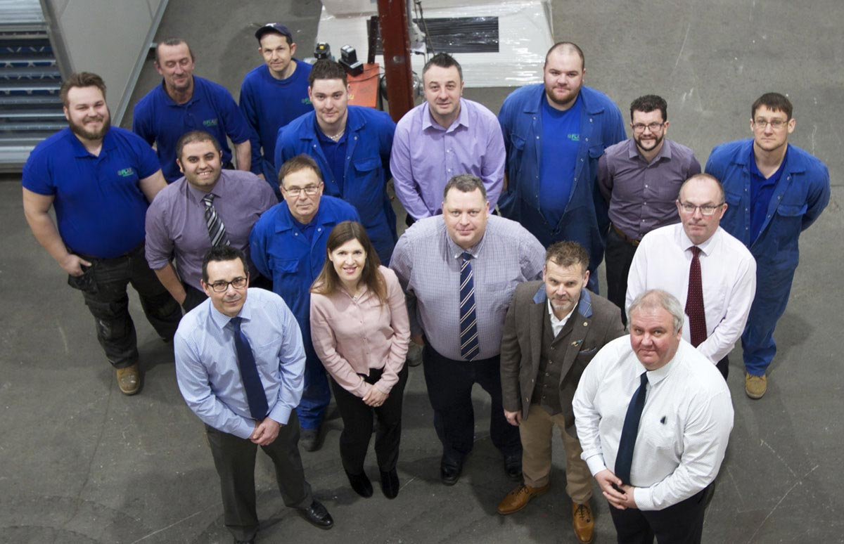 Flair Handling Systems Team